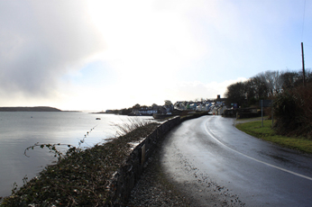 Approaching Roundstone Village