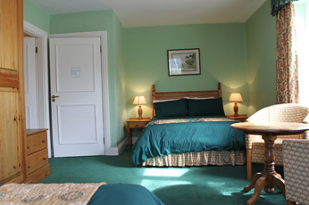 Bespoke furnishings at the Bogbean B&B Connemara