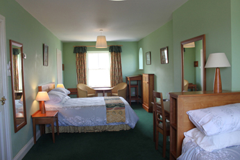 Family rooms at the Bogbean in Connemara