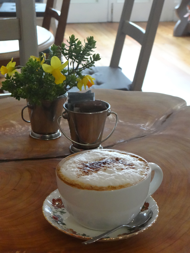 Coffee at the Bogbean Connemara, Roundstone Village