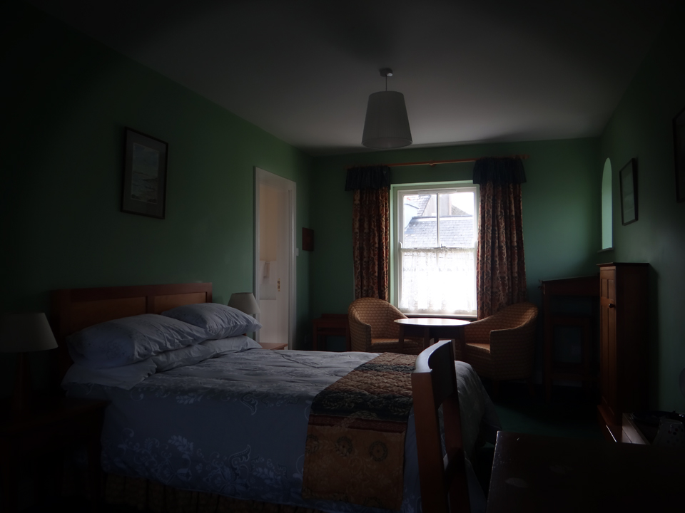 Cosy family rooms at The Bogbean B&B in Roundstone, Co. Galway